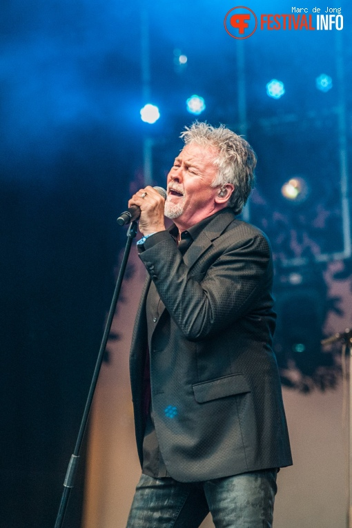 Foto Paul Young op Night at the Park 2017