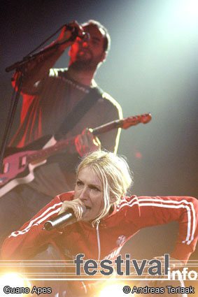 Guano Apes op Lowlands 2003 foto