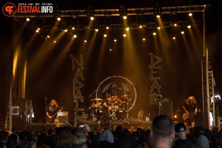 Napalm Death op Jera On Air 2017 - Zaterdag foto