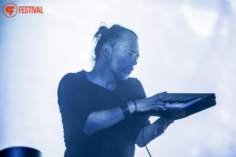 Radiohead op Rock Werchter 2017 - Vrijdag foto