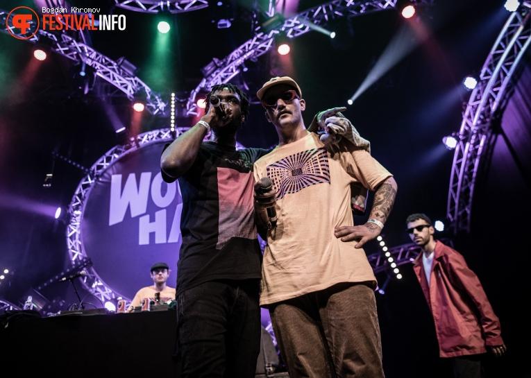 Yung Internet op WOO HAH! Festival 2017 foto