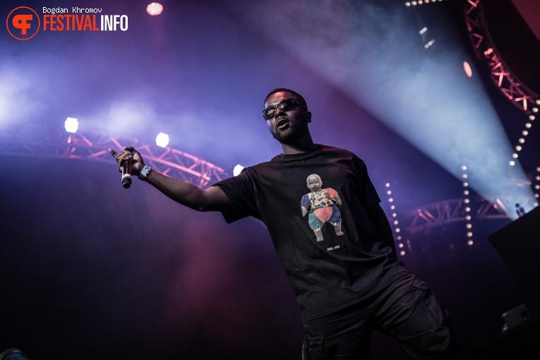 Yung Nnelg op WOO HAH! Festival 2017 foto