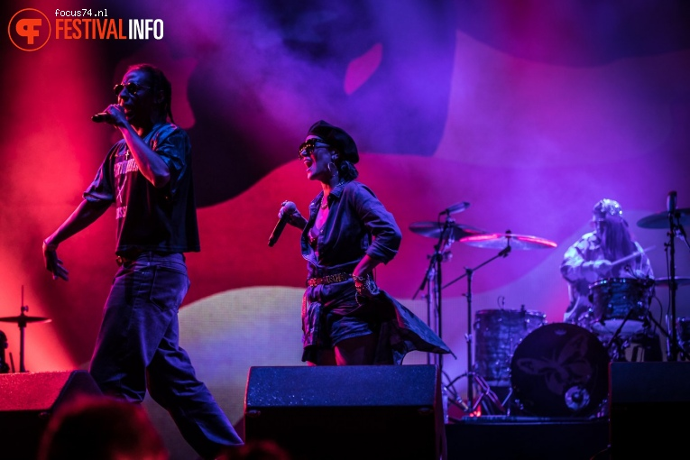 The Avalanches op Rock Werchter 2017 Zondag foto