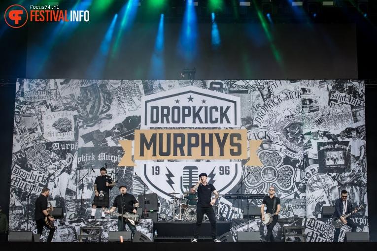 Dropkick Murphys op Rock Werchter 2017 Zondag foto
