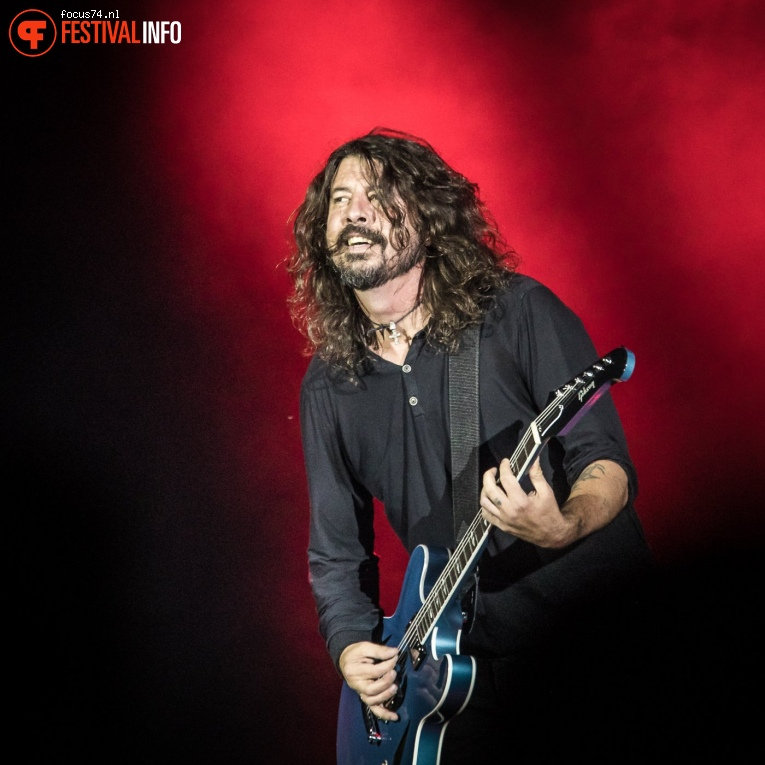 Foto Foo Fighters op Rock Werchter 2017 Zondag