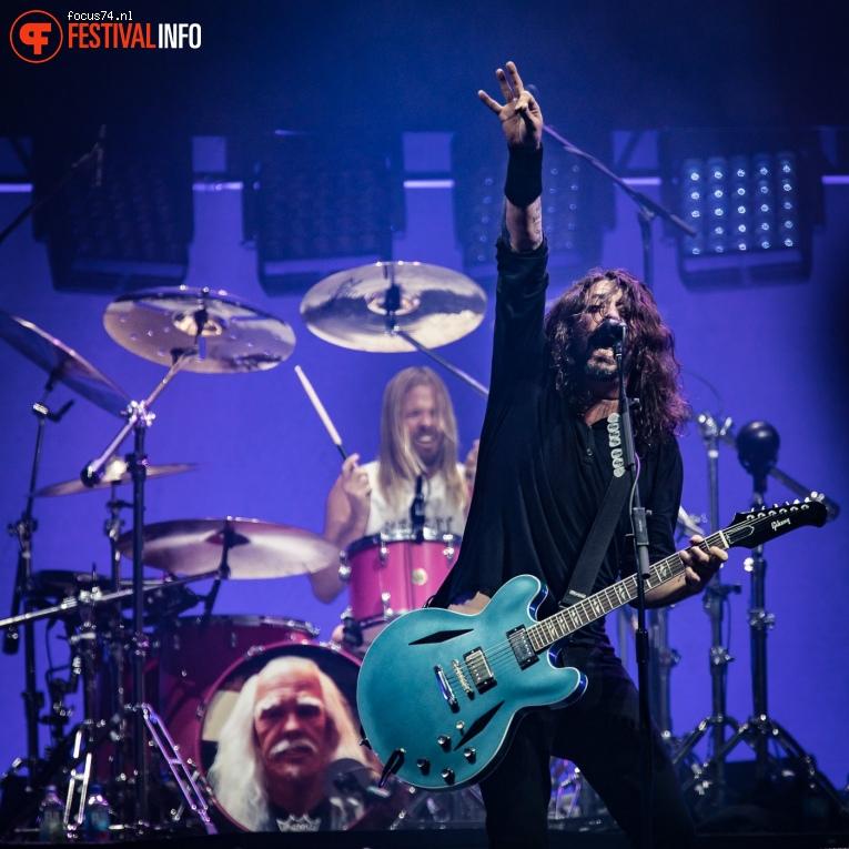 Foo Fighters op Rock Werchter 2017 Zondag foto