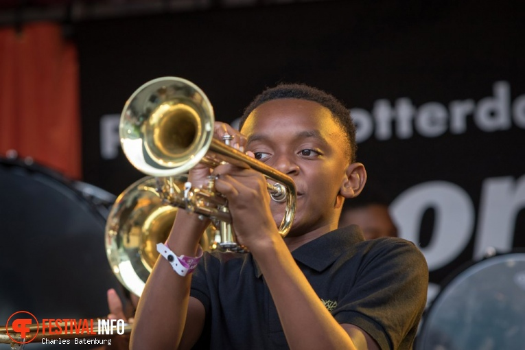 The Roots of Music Marching op North Sea Jazz 2017 - Vrijdag foto