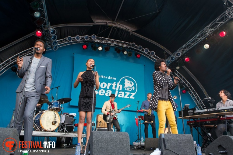 Jeangu Macrooy op North Sea Jazz 2017 - Vrijdag foto