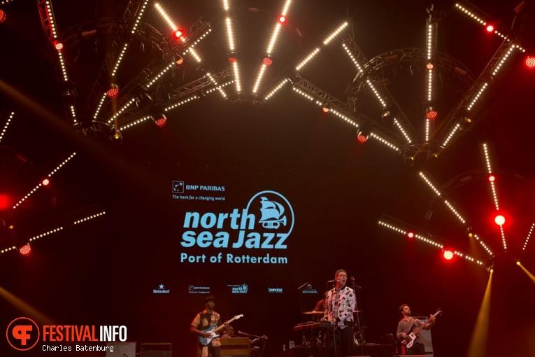 Jamie Lidell and The Royal Pharaohs op North Sea Jazz 2017 - Vrijdag foto