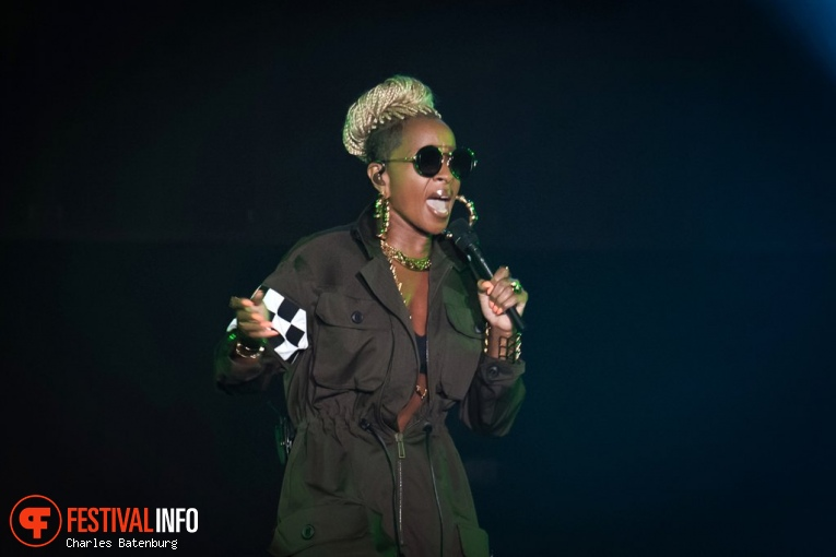 Mary J. Blige op North Sea Jazz  2017 - Zaterdag foto