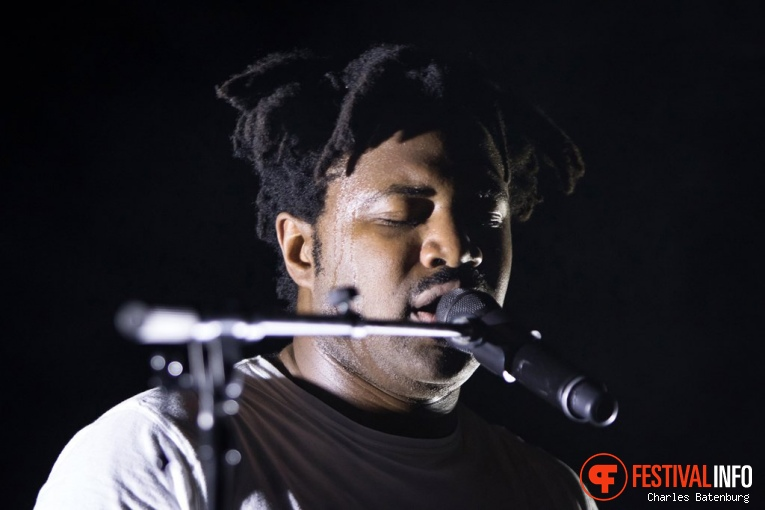 Sampha op North Sea Jazz  2017 - Zaterdag foto