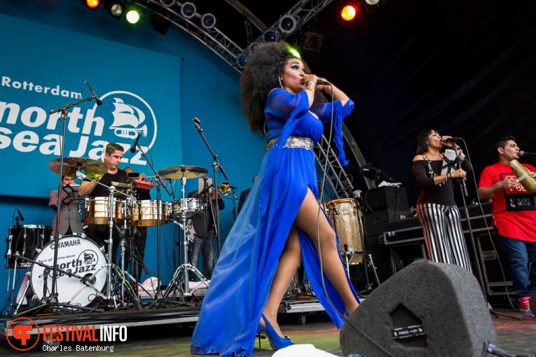 Aymee Nuviola op North Sea Jazz 2017 - Zondag foto