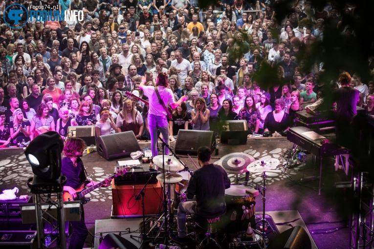 Foto Jett Rebel op Metropool Open Air met Jett Rebel - 08/07 - Openluchttheater Hertme