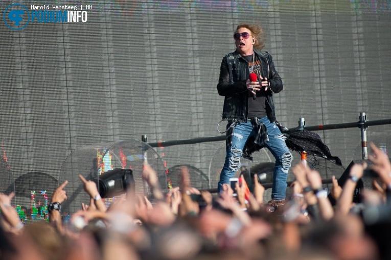 Foto Guns n' Roses op Guns N' Roses - 12/07 - Goffertpark