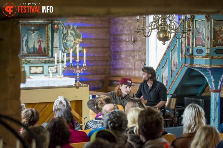 Andreas Doif op Træna festival 2017 foto