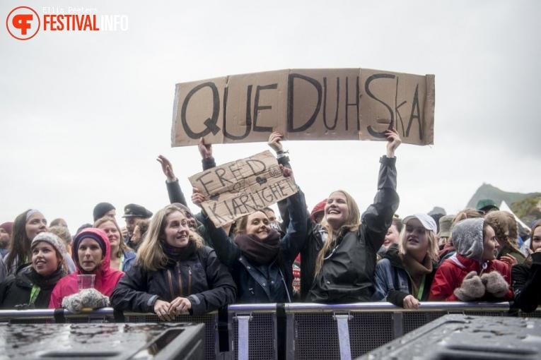 Que Duh Ska op Træna festival 2017 foto