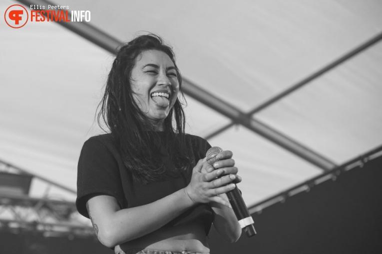Linda Vidala op Træna festival 2017 foto