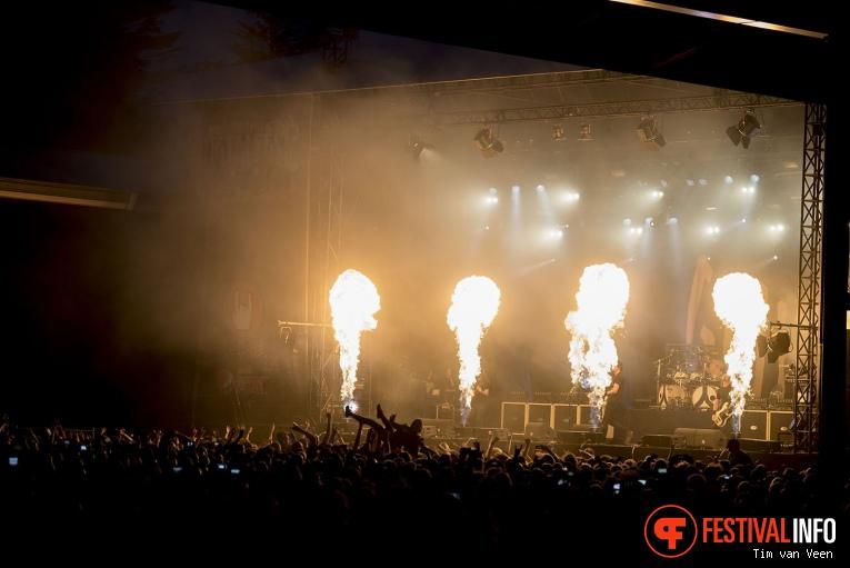 Gojira op Dynamo Metalfest 2017 foto
