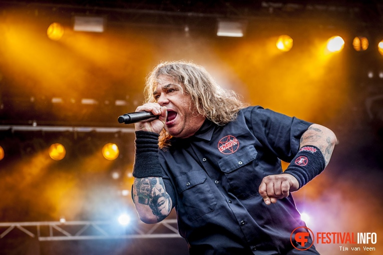 Exodus op Dynamo Metalfest 2017 foto