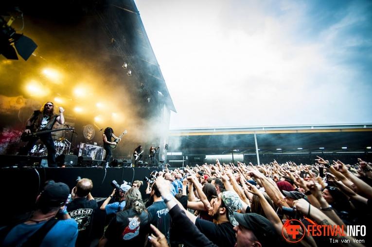 Testament op Dynamo Metalfest 2017 foto