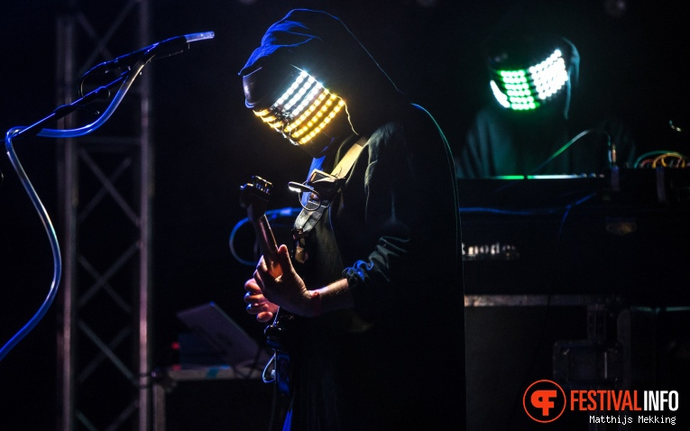 Shobaleader One op Valkhof Festival 2017 foto