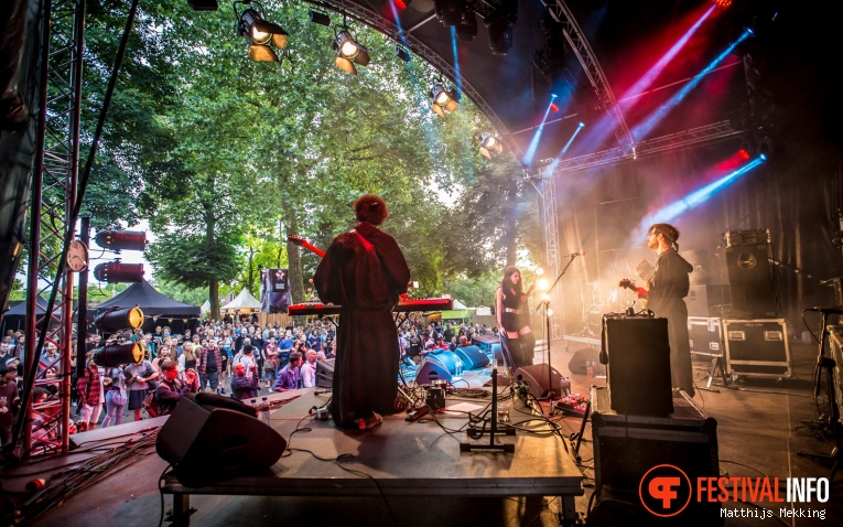 Foto Gaye Su Akyol op Valkhof Festival 2017
