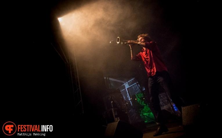 Foto Brass Rave Unit op Valkhof Festival 2017