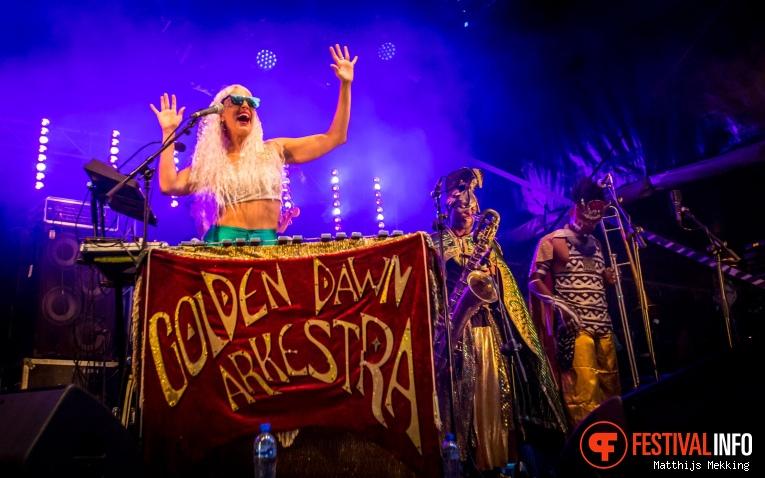 Foto Golden Dawn Arkestra op Valkhof Festival 2017