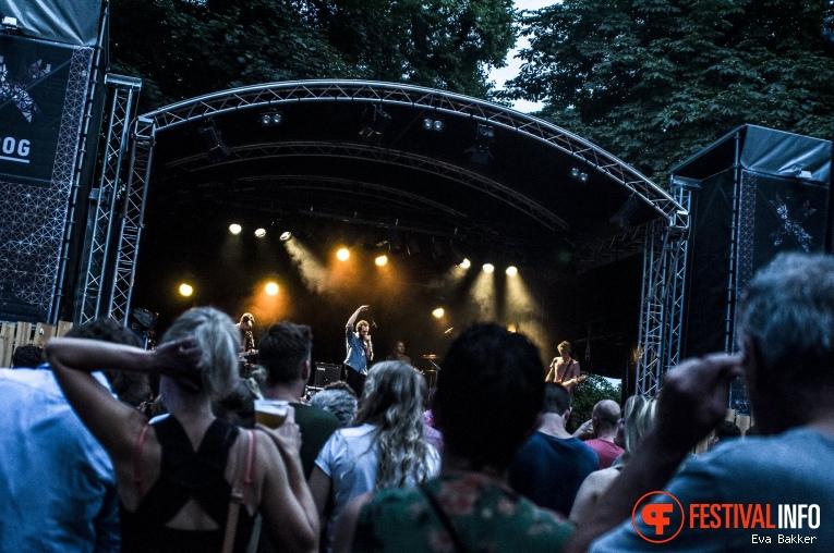 Francobollo op Valkhof Festival 2017 foto