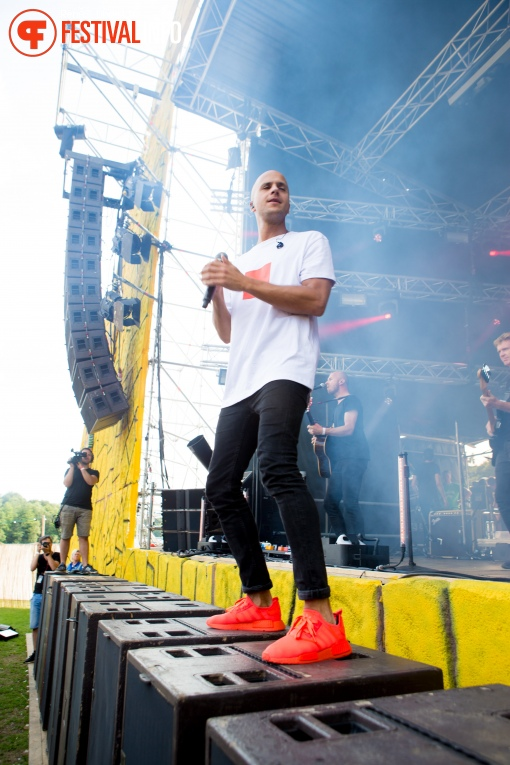 Foto Milow op Fields of Joy 2017