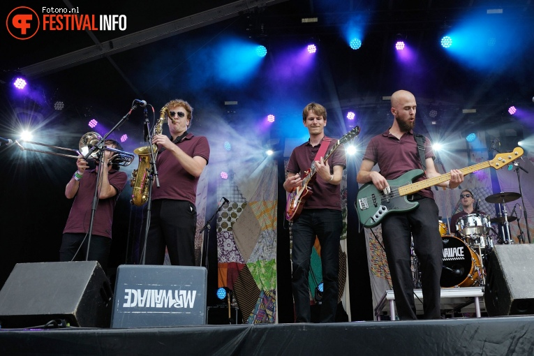 Mr Wallace op Welcome To The Village 2017 - Zaterdag foto
