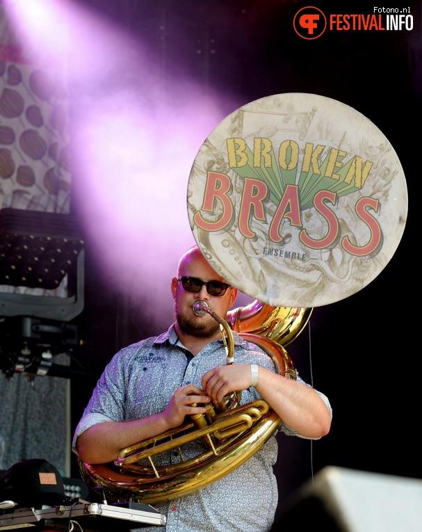 Broken Brass op Welcome To The Village 2017 - Zaterdag foto