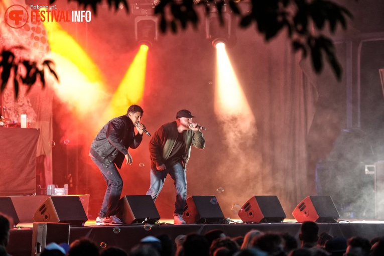 Foto Rico & Sticks op Welcome To The Village 2017 - Zondag
