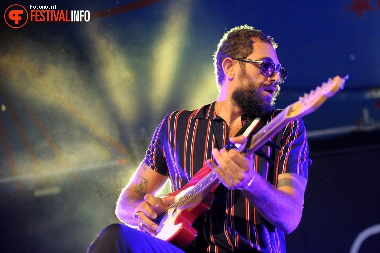 The Wanton Bishops op Welcome To The Village 2017 - Zondag foto