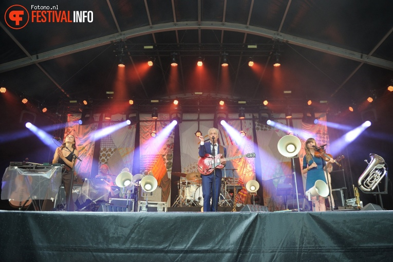 Spinvis op Welcome To The Village 2017 - Zondag foto