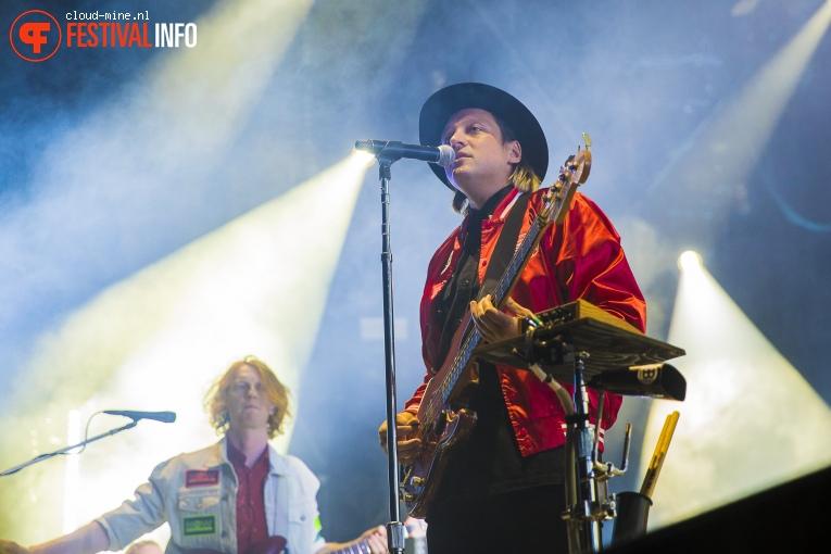 Arcade Fire op Paléo Festival 2017 foto
