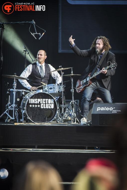 The Inspector Cluzo op Paléo Festival 2017 foto