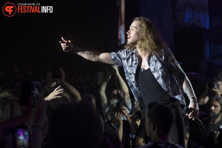 Julien Doré op Paléo Festival 2017 foto