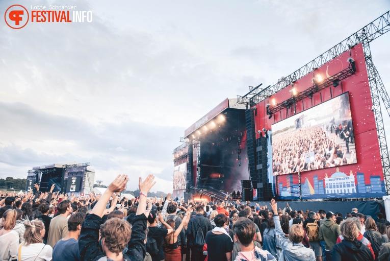 Imagine Dragons op Lollapalooza Paris 2017 foto