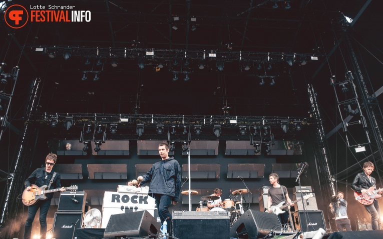 Foto Liam Gallagher op Lollapalooza Paris 2017