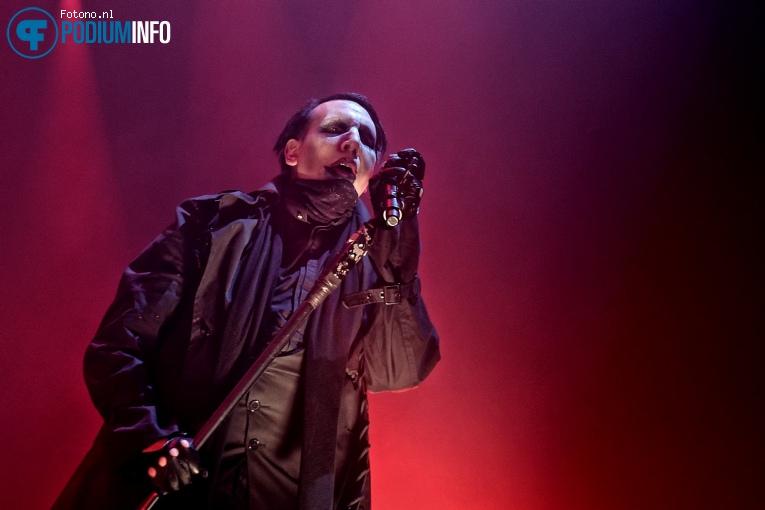Marilyn Manson op Marilyn Manson - 05/08 - TivoliVredenburg foto