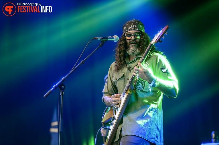 Foto Brant Bjork op Alcatraz Hard Rock & Metal Festival 2017 - Zaterdag