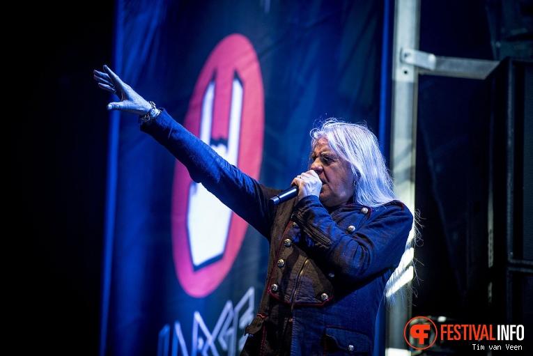 Saxon op Into The Grave 2017 - Vrijdag foto