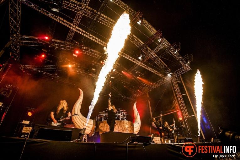 Amon Amarth op Into The Grave 2017 - Zaterdag foto