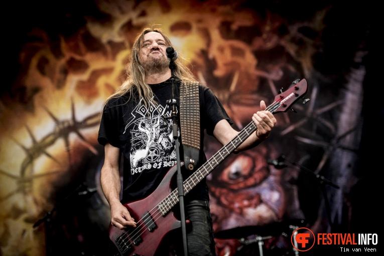 Sodom op Into The Grave 2017 - Zaterdag foto
