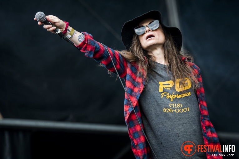 Life Of Agony op Into The Grave 2017 - Zaterdag foto