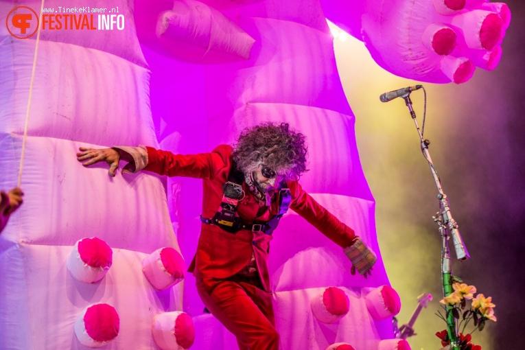 Foto The Flaming Lips op Pukkelpop 2017 - Vrijdag