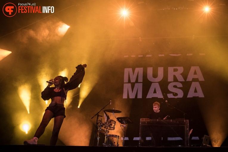 Mura Masa op Lowlands 2017 - Vrijdag foto