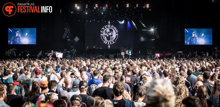 Foto Cypress Hill op Lowlands 2017 - Zondag