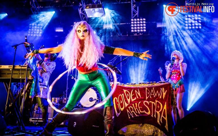 Golden Dawn Arkestra op Zomerparkfeest 2017 - Zondag foto